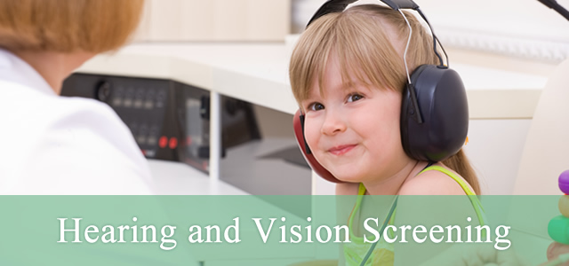 Child Hearing and Vision Tests